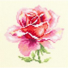 MN 150-002 Stickpackung - Rosa Rose