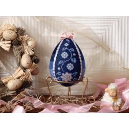 Osterei mit Blumen - B. Sikora-Malyjurek - Zählmuster