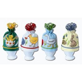 Wärmeschutz für Eier - Zählmuster