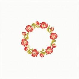 Tulpenkranz - Zählmuster