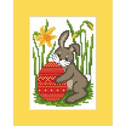 Osternkarte - Zählmuster