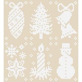Weihnachtsmuster - Zählmuster