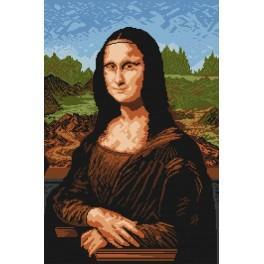 Zahlmuster online - Mona Lisa - Leonardo da Vinci