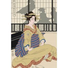 Zählmuster online - Die Geisha