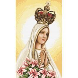 Zahlmuster online - Die Muttergottes von Fatima