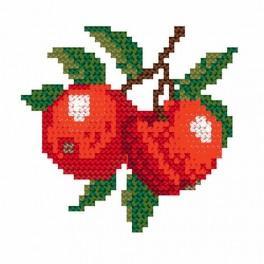 Zählmuster online - Äpfel