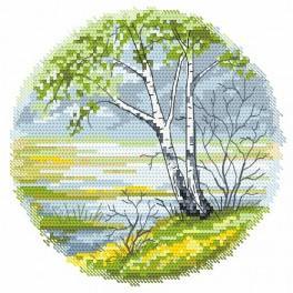 Zahlmuster online - Vier Jahreszeiten – Frühling