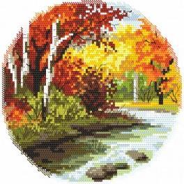 Zahlmuster online - Vier Jahreszeiten – Herbst