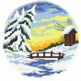 Zahlmuster online - Vier Jahreszeiten – Winter