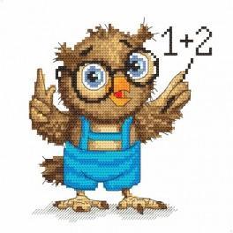 Zahlmuster online - Kleine Eule - Mathelehrerin