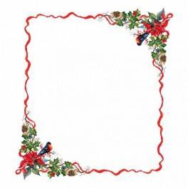 Zahlmuster online - Tischdecke - Weihnachtsabend