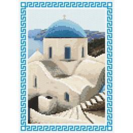 Zahlmuster online - Erinnerungen an die Sommerferien – Griechenland