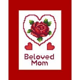 Zahlmuster online - Karte – Muttertag