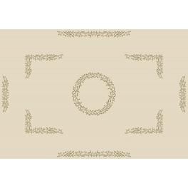 W 8500 Zahlmuster online - Tischdecke mit Mistel