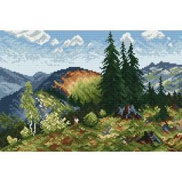 Zahlmuster online - Sommer in der Tatra