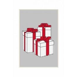 Zahlmuster online - Karte - Kleine Geschenke