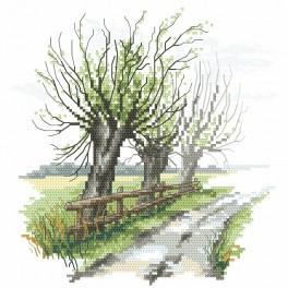 Zahlmuster online - Wie flüstern die Weiden
