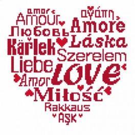 Zahlmuster online - Love