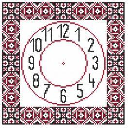 Zahlmuster online - Ethnische Uhr II