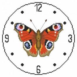 Zahlmuster online - Urh mit Schmetterling