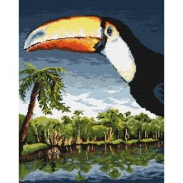 Ein Tukan - Gobelin