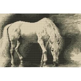 Ein Pferd - Gobelin