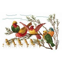 Die Vogelklatsche - Gobelin