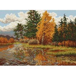 Die Herbstlandschaft - Gobelin