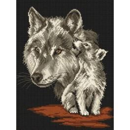 Wölfe - Gobelin