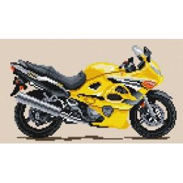 Motorräder - der goldene Störmwind - Gobelin