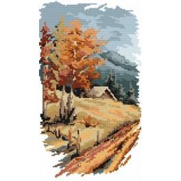 4 Jahreszeiten – Der Herbst - B. Sikora-Malyjurek - Gobelin