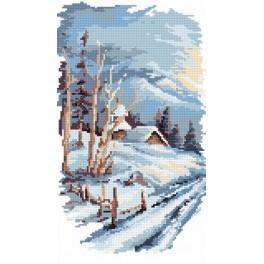 4 Jahreszeiten - Der Winter - B. Sikora-Malyjurek - Gobelin