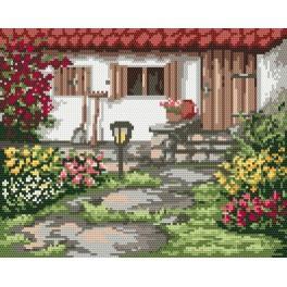 Der Frühlingsgarten - Gobelin