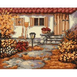 Der Herbstgarten - Gobelin