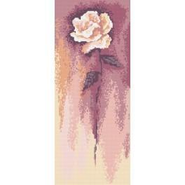 Weiße Rose - B. Sikora-Malyjurek - Gobelin