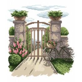 Geheimnisvoller Garten - Gobelin