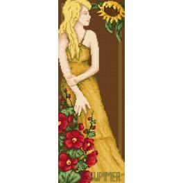 4548 Die Frau - Der Sommer - B. Sikora-Malyjurek - Gobelin