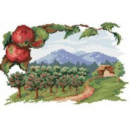 Der Apfelgarten - Gobelin