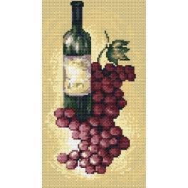 4633 Der Rotwein - B. Sikora-Malyjurek - Gobelin