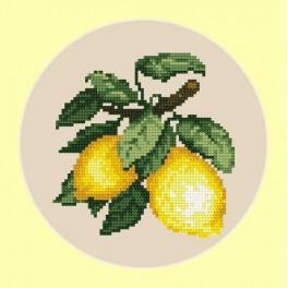 4677 Appetitliche Zitronen - B. Sikora-Malyjurek - Gobelin