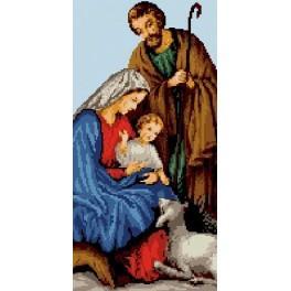 6533 Die Heilige Familie - Gobelin