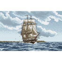 Schiffsfahrt - Gobelin