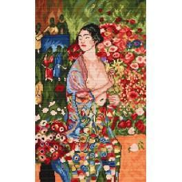 K 4311 G. Klimt - Die Tänzerin - Gobelin