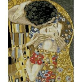 K 6091 G. Klimt - Der Kuss - Gobelin