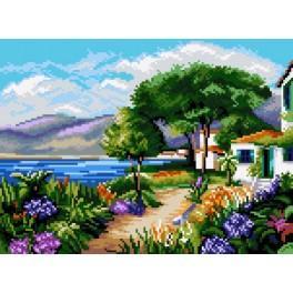 Landscape - Croatia - Gobelin