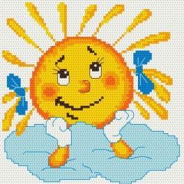 Verträumte Sonne - Gobelin