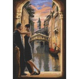 Verliebtes Venedig - Gobelin