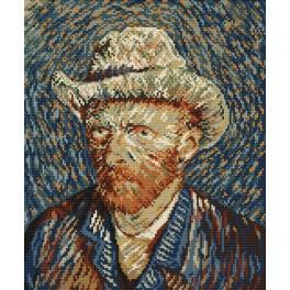 Zahlmuster online - Selbstportät - V. van Gogh