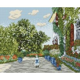 Zahlmuster online - Haus des Künstlers in Argenteuil - Claude Monet