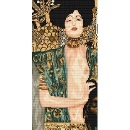 Zahlmuster online - Judith mit dem Haupt des Holofernes - G. Klimt